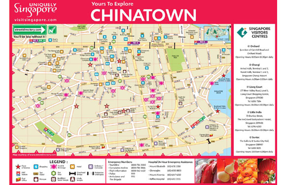Chinatown Map Compressportnederland