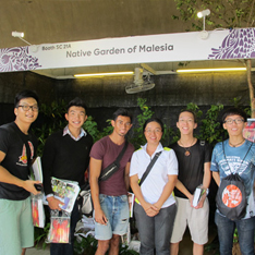 publication plants in tropical cities aug 2014 singapore garden festival 2014 16 to 24 august 2014 at gardens by the bay booth native garden of malesia