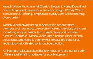 Classico Design & Home Deco Kuala Lumpur | Malaysia