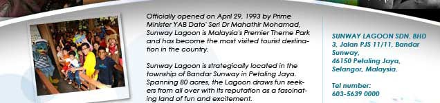 """business plan of sunway lagoon Local theme park puts beloved malaysia on the world map bandar sunway, 13  november 2017 – sunway lagoon culminates  calvin ho, senior general  manager of sunway theme parks said, """"25 years in a business is a."""