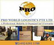 Pro World Logistics Pte Ltd