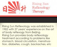 Rising Sun Reflexology Therapy