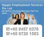 Agape Employment Services Pte Ltd