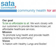 SATA CommHealth