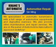 Khang's Automatic Transmission Pte Ltd