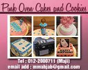 Pink Oven Cakes and Cookies Photos