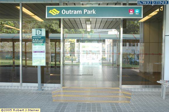 Outram Park MRT (EW16 / NE3) - Entrance/Exit D