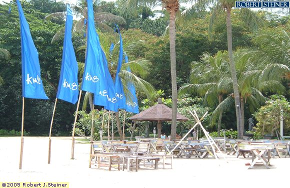 Sentosa Beach, Tanjong Beach, Quiet during the Day