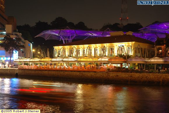 Clarke Quay, Dine @ Night