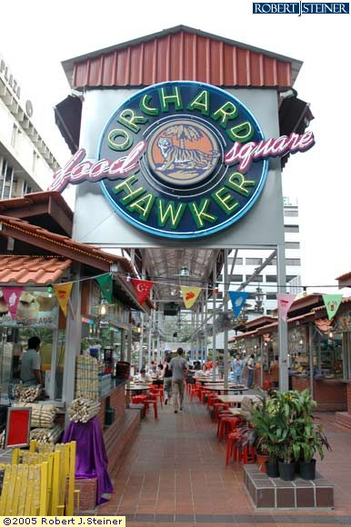 Orchard, Food Square, Orchard Hawker