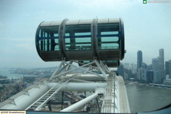 Singapore Flyer, Highest View
