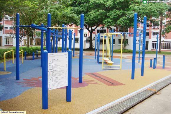 Fitness corner pasir ris street park image singapore