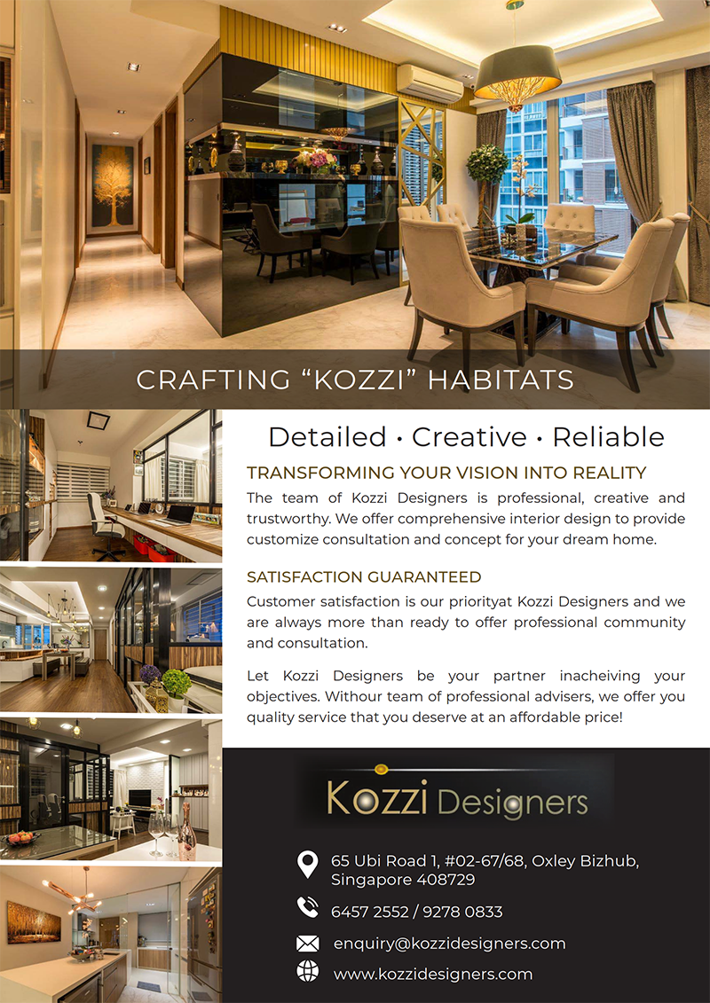 Kozzi Designers Pte Ltd