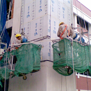 Cladding Installation