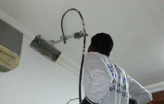 ceiling water leakage 2