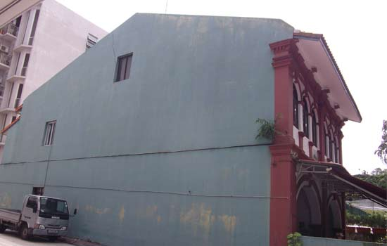 Wall Crack Repair Before