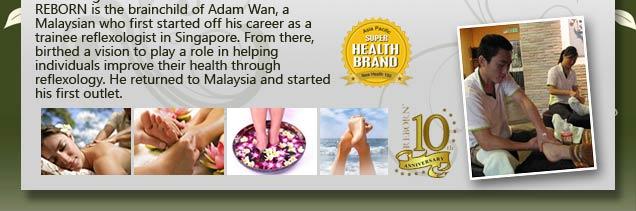 Reborn Foot Reflexology & Nature Health Products Selangor @ Sunway