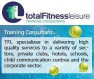 Total Fitness & Leisure Training Consultant