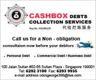 Cashbox Debts Collection Service