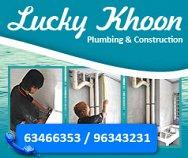 Lucky Khoon Plumbing & Construction
