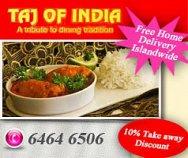 Taj of India Pte Ltd