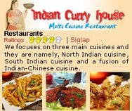 Indian Curry House (East Coast)