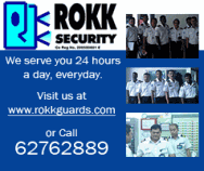 Rokk Security Guards & Services Pte Ltd
