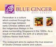 The Blue Ginger Restaurant