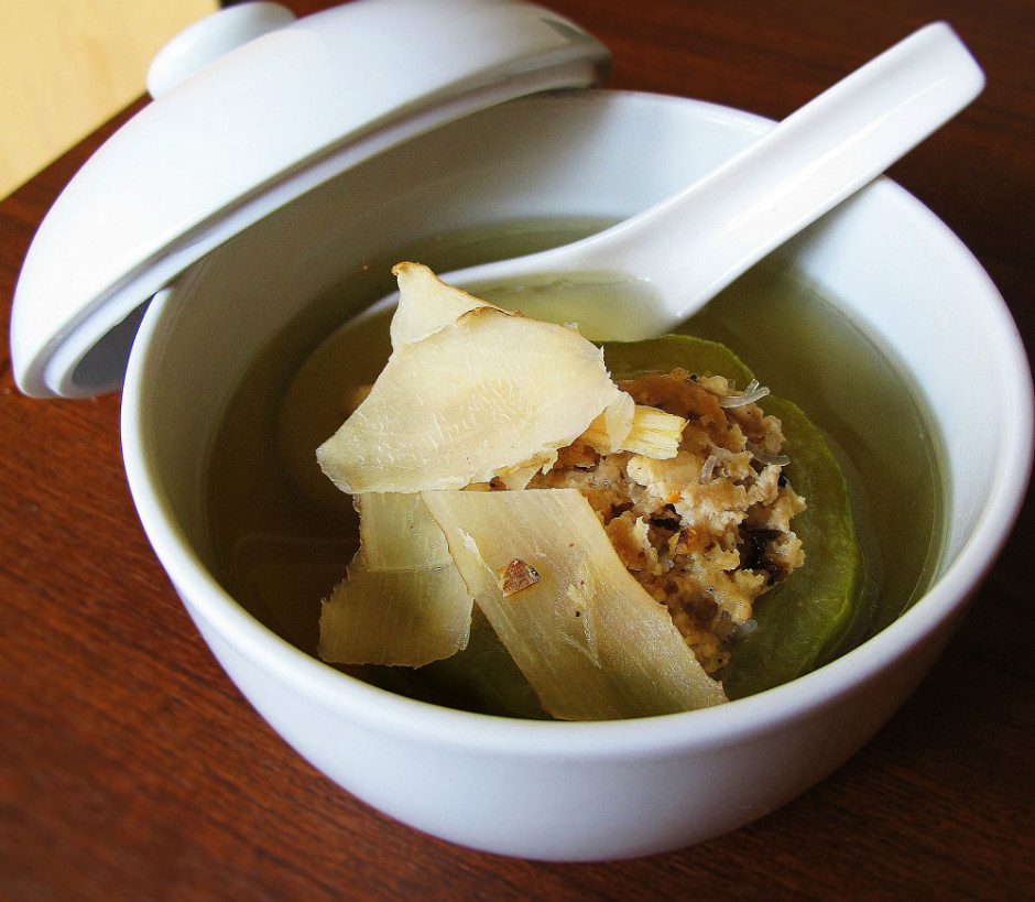 Bitter Gourd Cooling Soup
