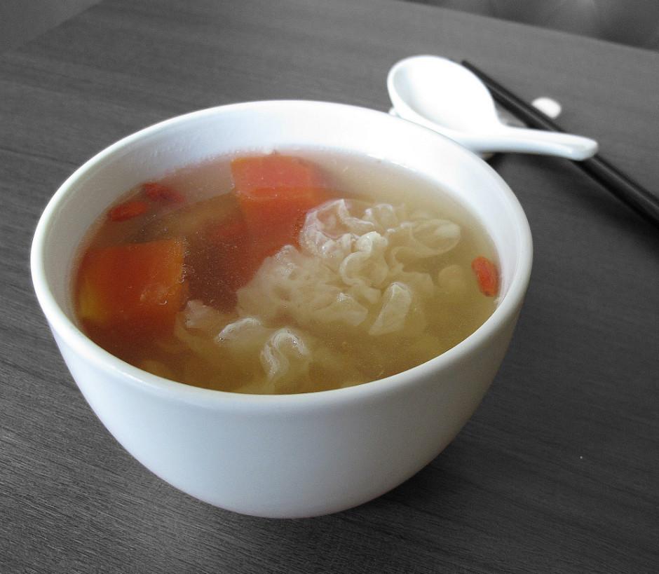 Papaya White Fungus Soup