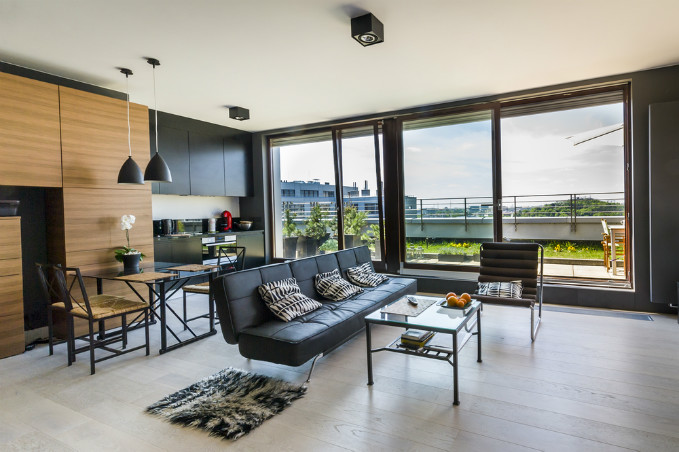 Chic Modern Condo Living Room Design Ideas