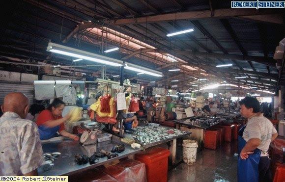 Geylang Serai Market, Seafood Stalls