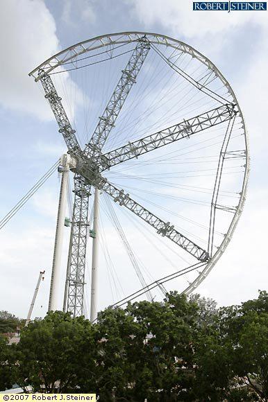 Ferris Wheel, North West View 3